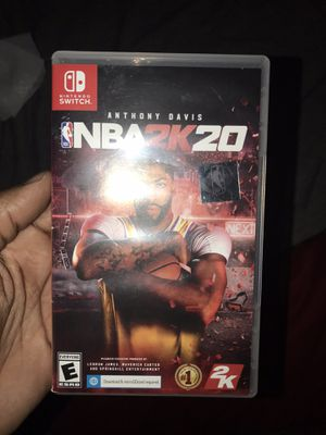 Nintendo switch 2k20 for Sale in Cleveland, OH