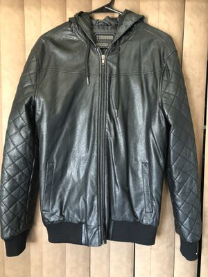 Men Pleather Jacket (Small) for Sale in Lakewood, CA