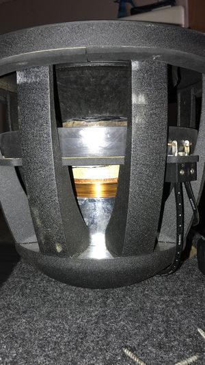 """Re audio Mx 1700 watts rms sub 12"""" in box or without for Sale in North Las Vegas, NV"""