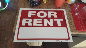 Rent sign for Sale in Prineville, OR