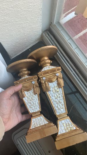 Two classy candle holders for Sale in Austin, TX