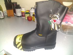 Patron steel toe boots never been worn for Sale in Largo, FL