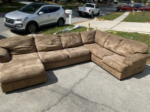 Ashley 3 piece Sectional Couch for Sale in Lutz, FL