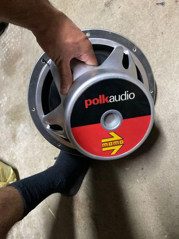 """12"""" POLK Audio MOMO Subs"""