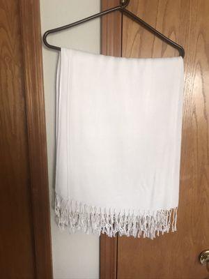 8 light cream colored shawls for Sale in Vancouver, WA