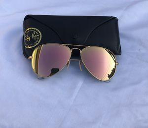 Ray ban aviators pink sunglasses for Sale in Washington, DC