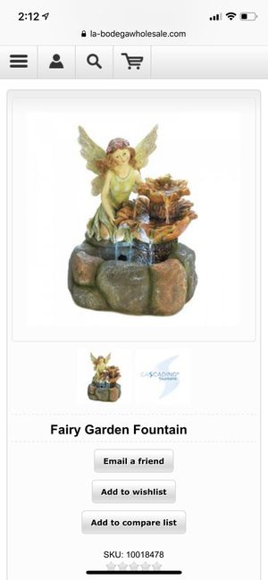 Fairy Garden Fountain for Sale in New York, NY