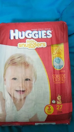 HUGGIES LITTLE SNUGGLERS for Sale in San Jose, CA