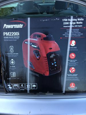2200watt Portable Inverter Generator for Sale in Coburg, OR