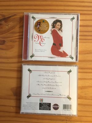 Mariah Carey merry Christmas songs X 21 brand new sealed for Sale in Stanford, CA