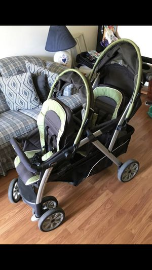 Chicco cortina double stroller for Sale in Arlington, TX
