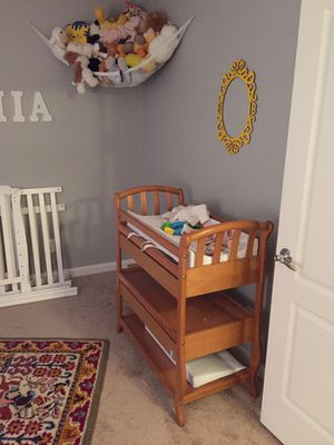Solid Wood Changing Table for Sale in Olney, MD