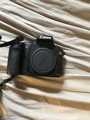 Canon Eos 20d with Lense for Sale in Humble, TX