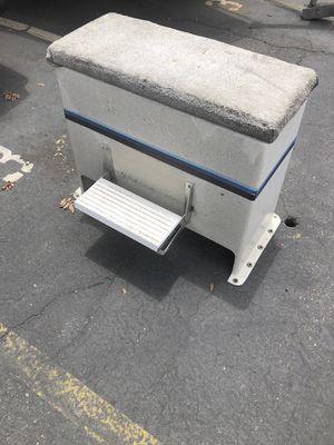 Fiberglass center console boat seat with storage for Sale in Laguna Hills, CA