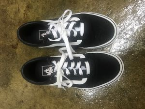 Vans shoes woman size 6 for Sale in Huntington Beach, CA