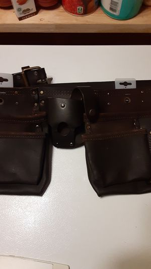 VOYAGER 12 Pocket Oil Tanned Tool Belt for Sale in Carmichael, CA