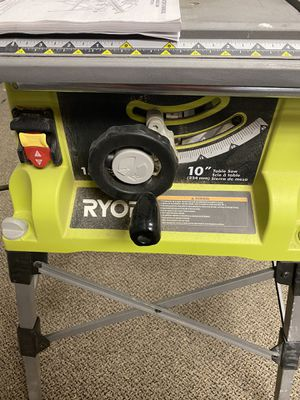 Ryobi 15 Amp 10 in. Table Saw w/ Folding Stand for Sale in Vienna, VA