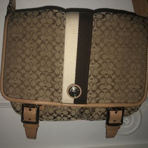 Coach Messenger Bag, Brown, Great Condition for Sale in FL, US
