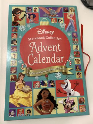 Disney Advent Calendar Disney Books for Sale in Fontana, CA