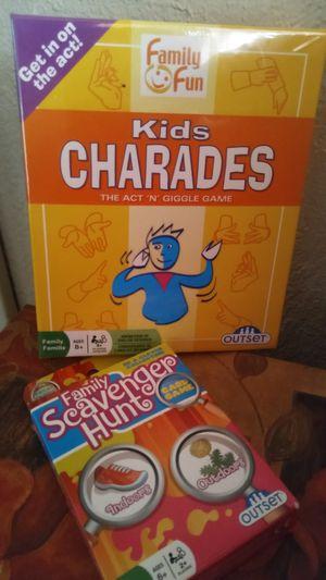 Kids Charades and Scavenger Hunt Games for Sale in Fort Meade, FL