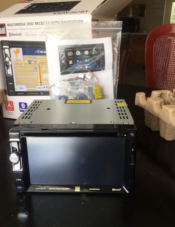 Multimedia dvd receiver with navigation