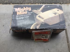 Vacuum Cleaner - Mighty Mini for Sale in Millcreek, UT