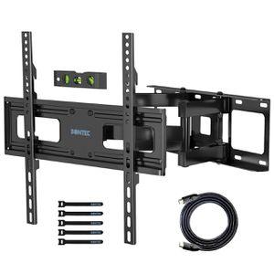 "Bontec: Black Full Motion Tv Wall Mount 23-60"" VESA Compatible for Sale in Dearborn, MI"