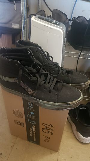 Van Sneakers army fatigue style for Sale in New York, NY