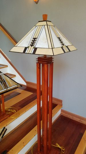 Mission Style Floor Lamp for Sale in Lake Forest, CA