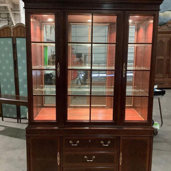 """Gorgeous Drexel Heritage """"Chippendale"""" Display Cabinet - Delivery Available for Sale in Everett,  WA"""