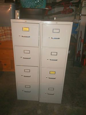 Two large File cabinet great condition for Sale in Greenville, MS