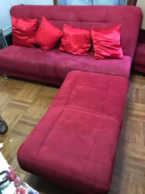 Red sofa for Sale in The Bronx, NY
