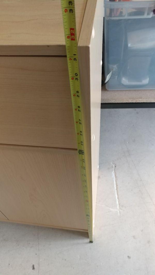 Small drawer dresser cabinet