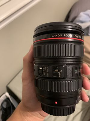 Canon EF 24-105 mm f/4L IS USM for Sale in Tustin, CA