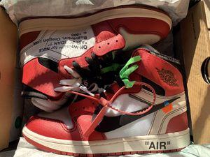 Jordan 1 OFFWHITE for Sale in Gardena, CA