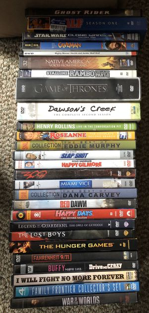 DVD movies and TV series $25 for all for Sale in Saint Paul, MN