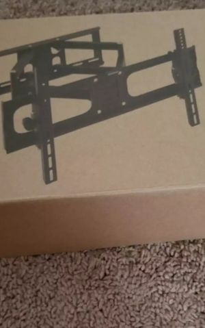 Full motion tv wall mount (pick up in Plano ).brand new in box ..holds 20 30 40 50 55 60.65 70 inch for Sale in Plano, TX