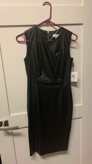 Calvin Klein leather dress for Sale in San Tan Valley, AZ