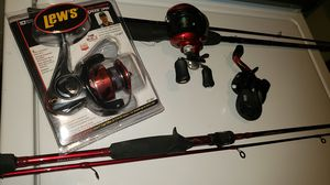 Fishing rods and spinners and baitcaster for Sale in Woodbridge, VA