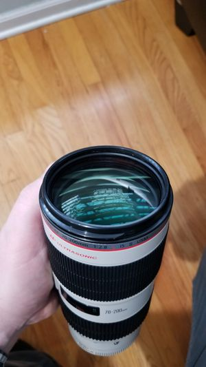 Canon EF 70-200mm f/2.8 L IS II USM Lens for Sale in Franklin Park, IL