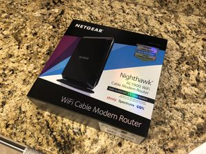 Netgear Nighthawk AC1900 WiFi Cable Modem & Router for Sale in Vista, CA