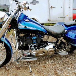 1997 Harley Davidson Fatboy Two Tone for Sale in Miami, FL