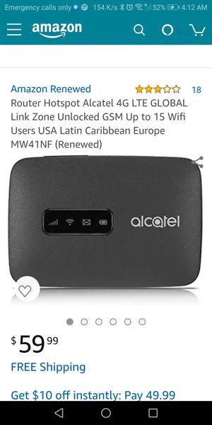Alcatel Router Hotspot (Metro PCS) for Sale in Portland, OR