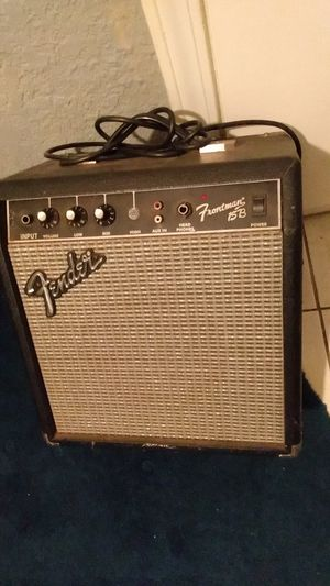 Fender Guitar Amp for Sale in Oklahoma City, OK