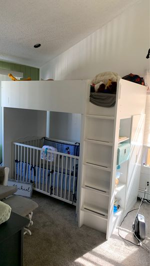 Bunk bed with desk for Sale in Ronkonkoma, NY