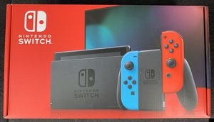 BRAND NEW Nintendo Switch 32GB Console with Red/Blue Joy‑Con IN HAND for Sale in Mt. Juliet, TN