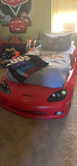 Corvette bed fame an toy storage for Sale in McKeesport, PA