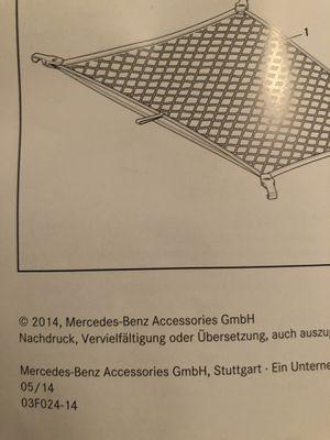 New Gargo net for 2014 Mercedes Benz sedan for Sale in Houston, TX