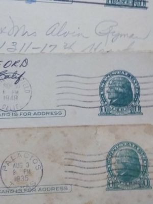 Make offer on stamps and post cards for Sale in Port Neches, TX