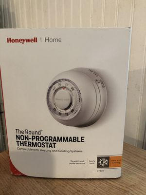 HONEYWELL CT87N HEAT/COOL ROUND THERMOSTAT (retail $45) for Sale in Atlanta, GA